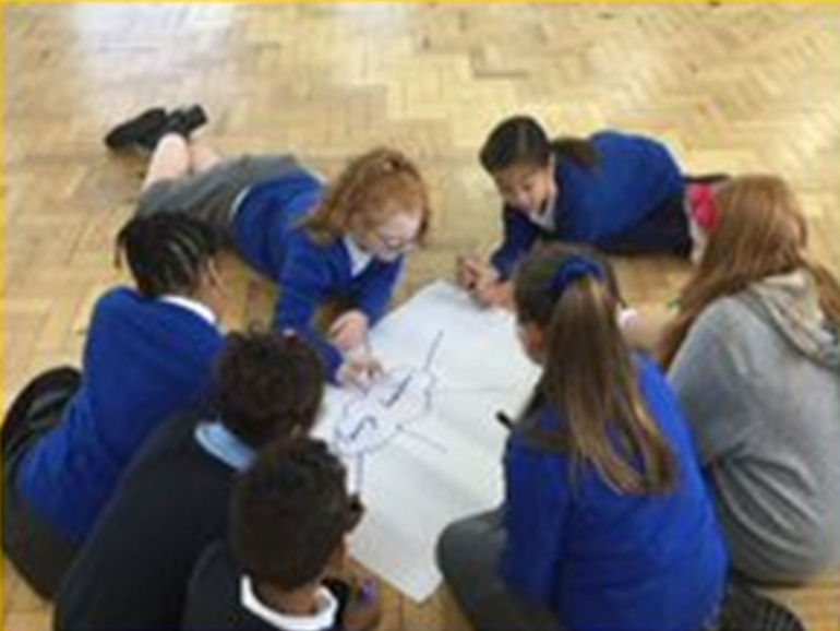 Young Leaders planning together